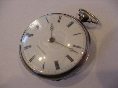 Famous Maker – A. L. Berthoud - French 1875 Silver Verge Fusee 144 Years Old!