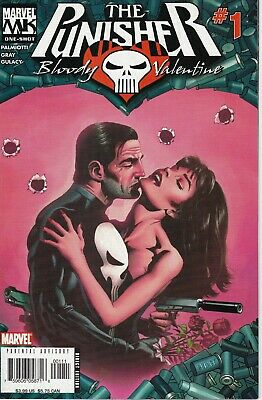 The Punisher Bloody Valentine  #1 Marvel Comics 2006 Marvel Knights Paul Gulacy