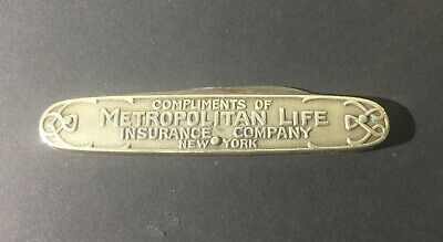 Vintage Metropolitan Life Pocket Knife