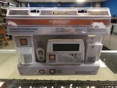 DEFIANT Home Security Wireless Home Protection System 1001 090 469 THD-1000 NEW
