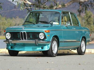 1974 2002 -- 1974 BMW 2002  500 Miles Green Turkish Metallic Frame Off Perfect