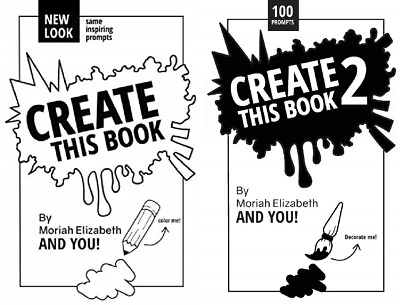 Create This Book double pack Paperback – 17 May 2015 Moriah Elizabeth 0692452745
