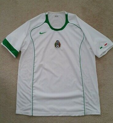 info for 7d81d 588b9 NIKE MEXICO AUTHENTIC Replica Away Jersey 2004-06 Size XL Excellent