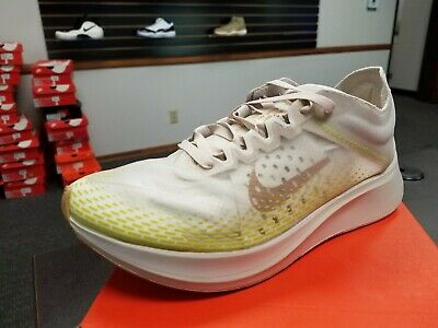 Brand New in Box Men's Nike Zoom Fly SP Fast AT5242-174 Running Shoes Gold