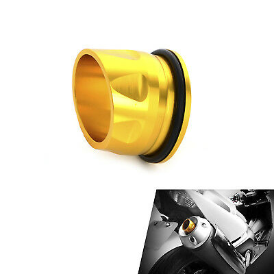 CNC Exhaust Muffler Pipe Tip Cover Cap For Yamaha T-MAX 530 2012 2013 2014 2015