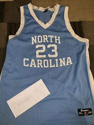 check out 6ca01 94f7b VINTAGE STITCHED NIKE Michael Jordan UNC North Carolina Tar Heels Jersey  size XL