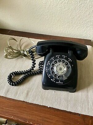 Vintage rotary Automatic Electric telephone