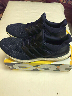 37928c42b8a8b Adidas Ultra Boost 1.0 Collegiate Navy Blue White Mens Size 11 S77415  Hickies