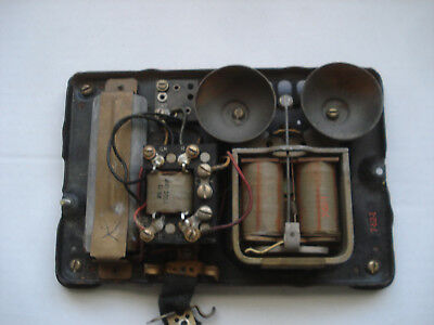 Baseplate for Western Electric 302 with Network and condenser.