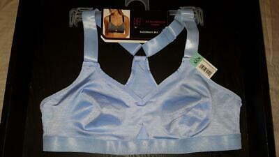 391f6777089f8 NWT NO BOUNDARIES Intimates Racerback BRA Bralette Blue Size XS   CH 30-32 A