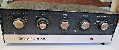 Vintage Heathkit SA-2 Tube Integrated Amplifier For Parts Or Repair Quality Item