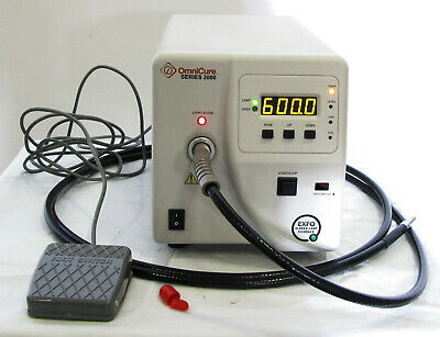 EXFO Omnicure S2000 UV Light Curing System with Light Cable & Foot Control