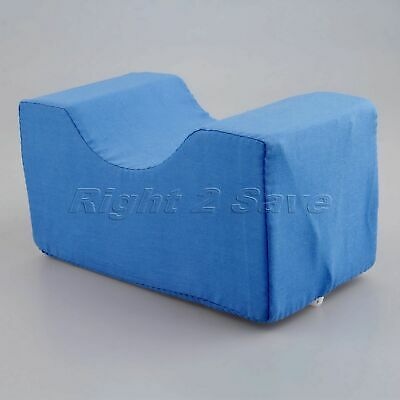 Blue Foam Ankle Wrist Pillow Leg Support Cushion Pad with Washable Cotton Cover