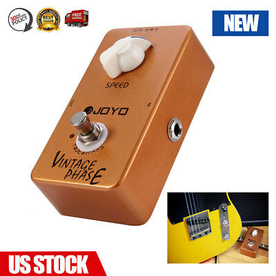 JOYO JF-06 Vintage Phase Electric Guitar Effect Pedal True Bypass Adjustable new