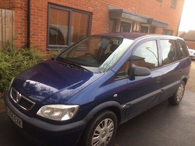 Vauxhall Zafira, 1.8, MPV, 7 Seater, 2005, Manual, Long M.O.T