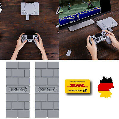 8Bitdo USB Wireless Bluetooth Receiver Für Playstation PS4 PS3 PS1 Controller