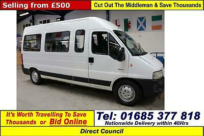 2003 - 03 - Citroen Relay 1800 2.2Td Hdi 17 Seat Minibus (Guide Price)