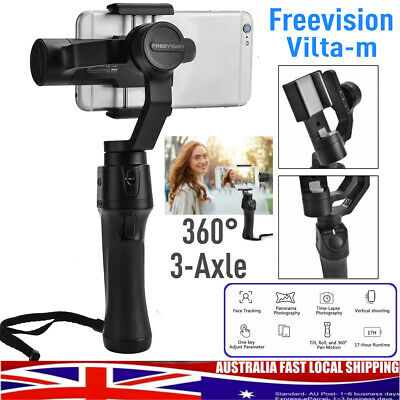 360° Freevision Vilta-m 3-Axle Handheld Stabilizer Gimbal for Phone Black ABS AU