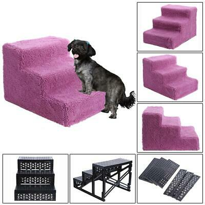 Dog Pet Stairs Steps Indoor Ramp Portable Folding Cat Ladder with Cover