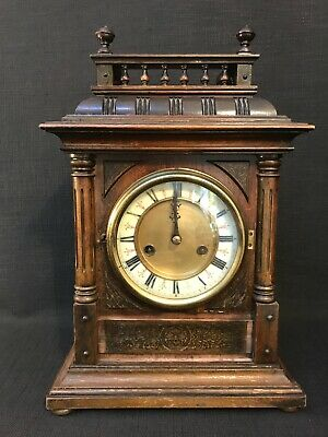 Antique Victorian E Routley of Bath Bracket Clock, Requires Some Restoration