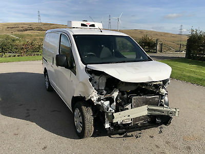 Nissan NV200 1.5DCI EU6 ACENTA FRIDGE CHILLER VAN 2016 (66) DAMAGED REPAIRABLE