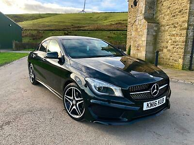 Mercedes-Benz CLA 180 1.6 S/S AMG SPORT 2016 (16) DAMAGED REPAIRABLE