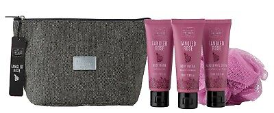 The Scottish Fine Soaps Company Tangled Rose Toiletry Bag Gift Set