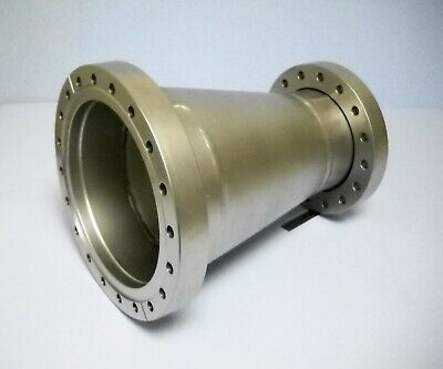 """UHV 8"""" CF to 6"""" CF Conical Reducer Ultra High Vacuum Adapter Vacuum Chamber"""