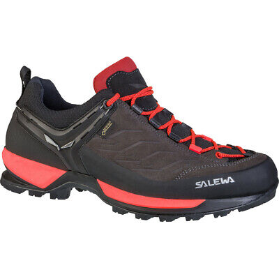 Salewa MTN Trainer GTX Shoes Women Black Out/Rose Red 2019 Schuhe braun rot