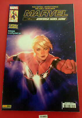 Marvel Universe - N°2H - Captain Marvel - Panini Comics Vf - M09818 - 4683