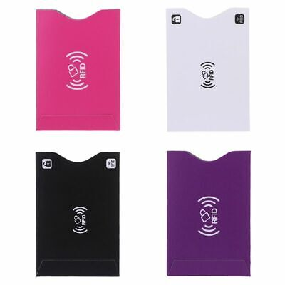 1Pc ID Credit Card Cover RFID Protector Shielded Sleeve Business Bank Cards Case