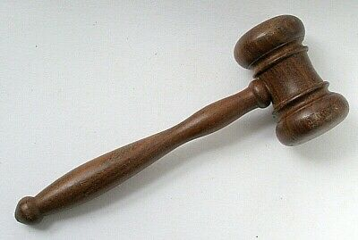 Hardwood Auctioneer's Gavel