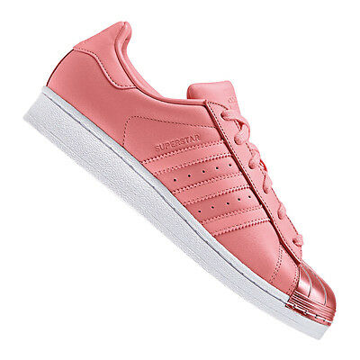low priced 488d5 24b40 Adidas Originals Superstar Metallo Punta Donna Rosa