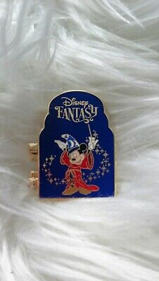 *Disney* DCL Pin: Disney Cruise Line Pin Sorcerer Mickey Hinged Fantasy LE2500