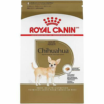 Royal Canin Breed Health Nutrition Chihuahua Adult Dry Dog Food, 2.5 lb