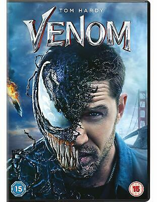Venom DVD Tom Hardy Michelle Williams Brand New Sealed 5035822481831