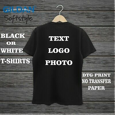 Personalised T-shirt Custom Photo Your Image Printed Stag Hen Party DTG PRINTING