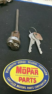 1946 1947 1948 Dodge D24 All Models Key Cylinder And Key Town Sedan And Coupe