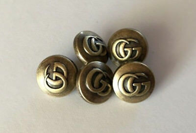 GUCCI GG Buttons - Listing for 5 SMALL Buttons
