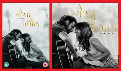 A Star is Born DVD and CD Soundtrack Pack Bradley Cooper, Lady Gaga