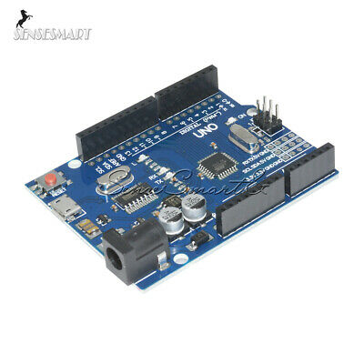 Latest Version UNO R3 ATMEGA328P-16AU CH340G Micro USB Board SE