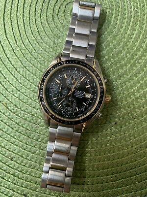 d2a25ad1e6dc Casio Edifice Men s Chronograph Quartz WR 100m