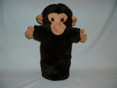 THE PUPPET COMPANY CHIMP Long Sleeved Hand Glove Puppet Soft Plush Toy (MONKEY)