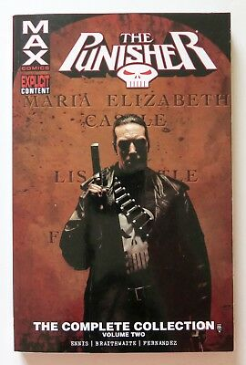 Punisher The Complete Collection Vol. 2 MAX Comics Graphic Novel Comic Book