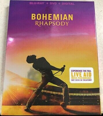 Bohemian Rhapsody Blu-Ray, DVD, Digital NEW 2019