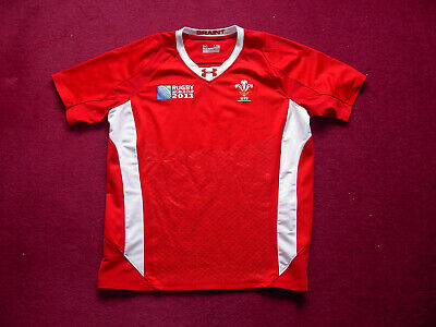Under Armour Wales Rugby Union Shirt/top/jersey/2011 World Cup/adult large