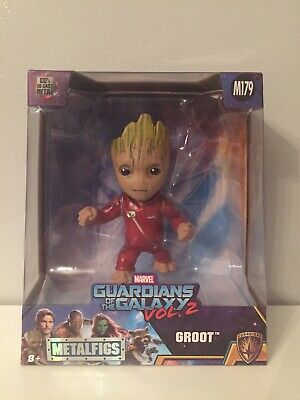 "Marvel Jada Metalfigs Guardians Of The Galaxy Vol 2 Groot M179 4"" Figure BNIB"