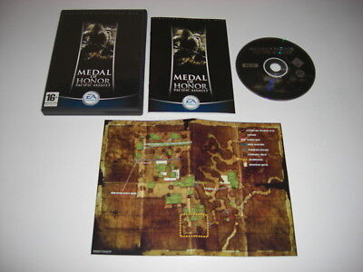MEDAL OF HONOR PACIFIC ASSAULT Directors Edition Pc Cd Rom MOH -  FAST POST