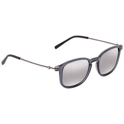 a819f7859f PERSOL LIGHT BLUE Round Men s Sunglasses PO2445S 51856 52 PO2445S ...