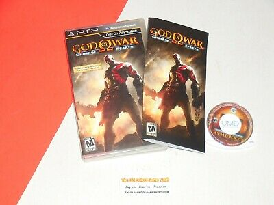 Sony PSP, GOD OF WAR Ghost of Sparta (Complete) Playstation Portable